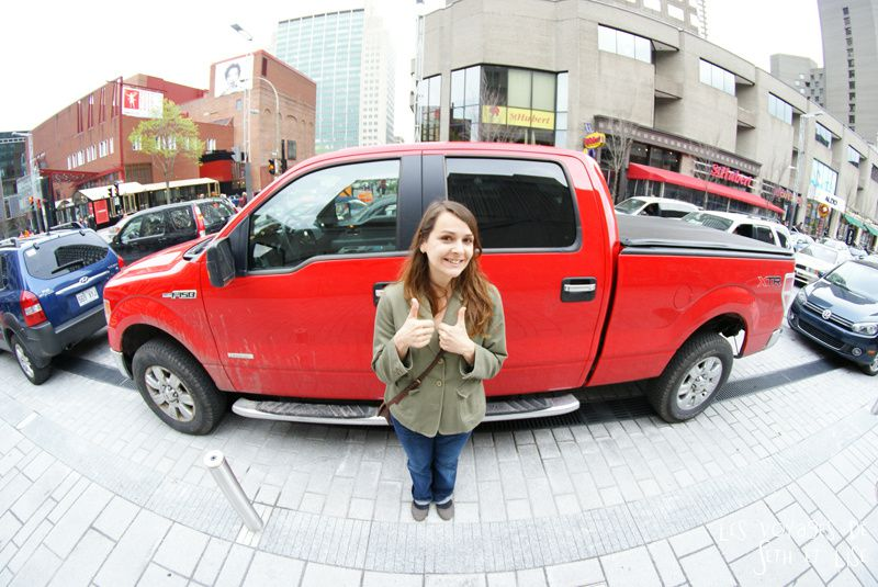 blog pvt voyage montreal canada whv 4x4 4wd truck ford f150 monstertruck car voiture