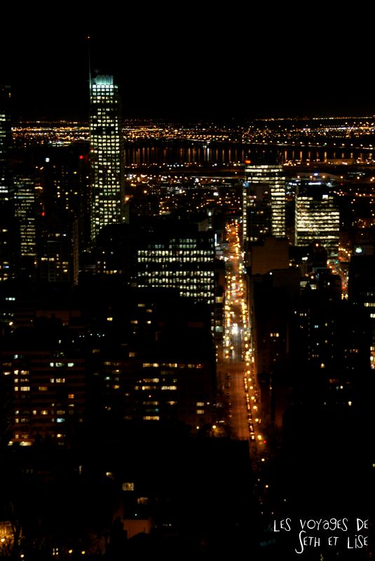 blog voyage canada pvt montreal mont royal building downtown route lumiere