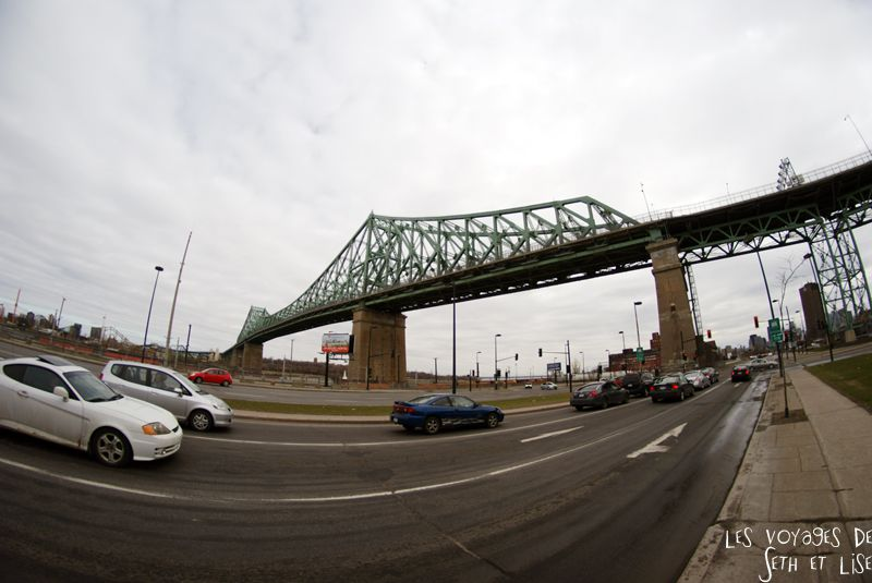 blog voyage canada montreal pvt pont bridge jacques cartier 8mm
