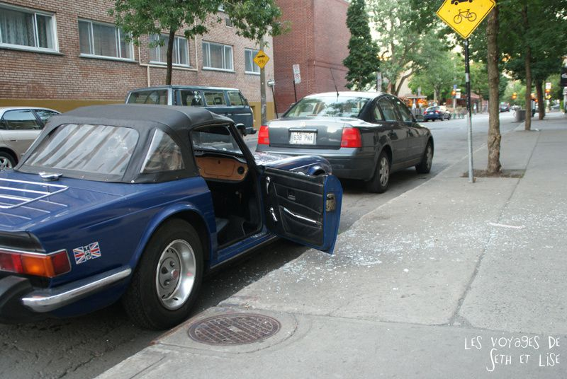 blog canada montreal pvt seth lise photo sunrise urbain soleil crépusucle tryumph vol voiture effraction car collection
