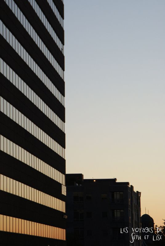 blog canada montreal pvt seth lise photo sunrise urbain soleil crépusucle building