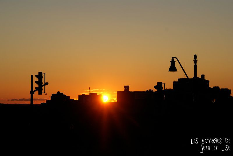blog canada montreal pvt seth lise photo sunrise urbain soleil crépusucle urbain ville city