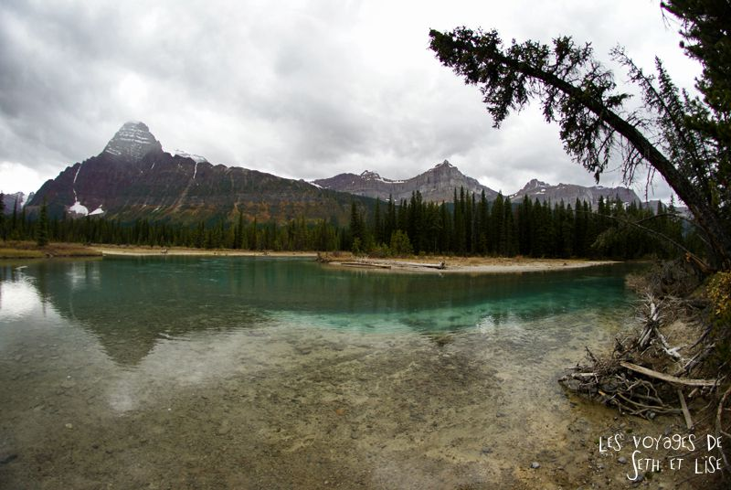 blog pvt photographie pvtiste canada alberta rocheuses rockies moutains voyage montagne couple tour du monde nature parc national lac lake rocheuse river