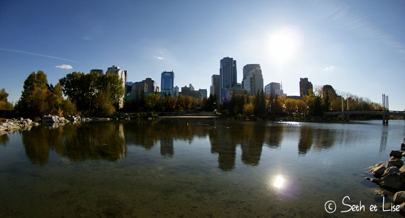 blog canada photo voyage pvt calgary pond city