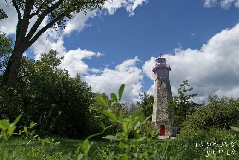 pvt canada toronto couple blog iles island ferry voyage tour du monde phare lighthouse ancien