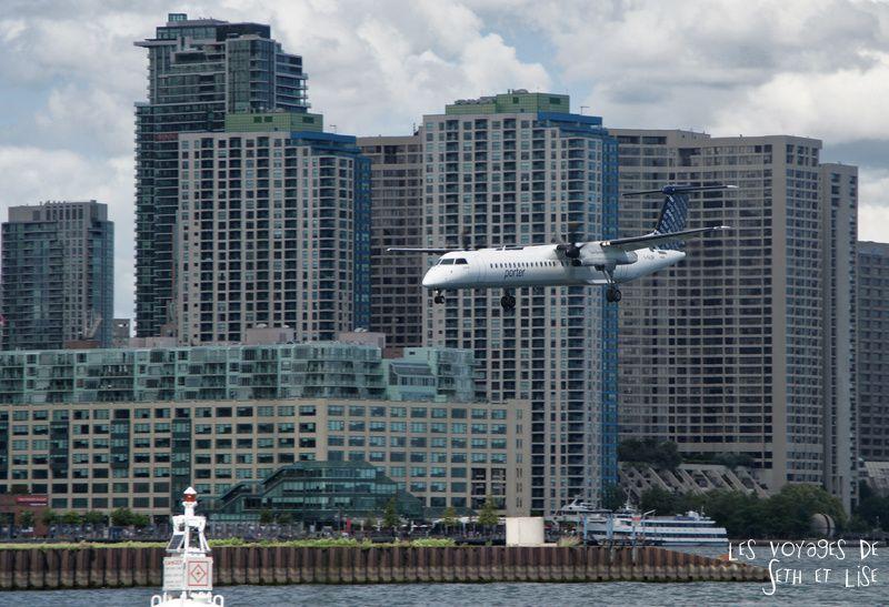 pvt canada toronto couple blog iles island ferry voyage tour du monde avion aeroport toronto atterissage