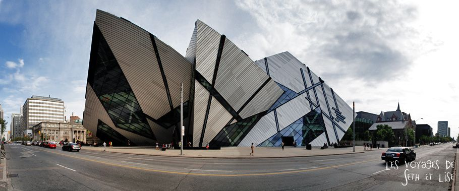 blog photo canada voyage toronto pvt humour architecture royal ontario museum