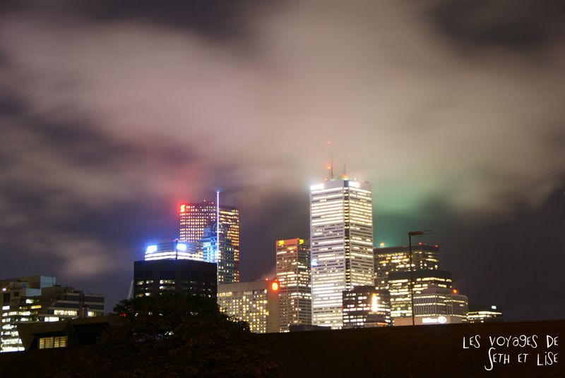 blog voyage canada toronto cloud skyline building weather pvt