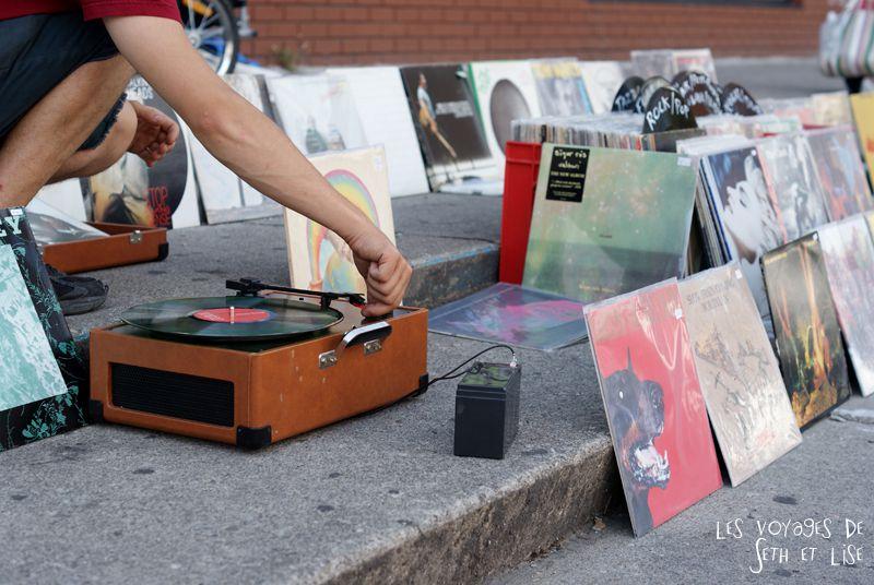 blog pvt canada toronto couple voyage tour du monde travel whv ontario street insolite vinyle musique music vinyl rue