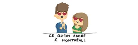 blog canada montreal pvt whv couple insolite drole bd love like aime