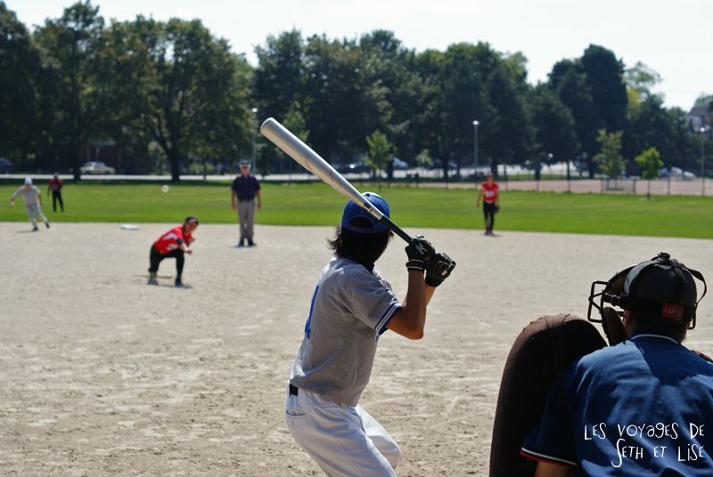 blog photo voyage pvt canada toronto ontario couple tour du monde travel photography baseball japonais