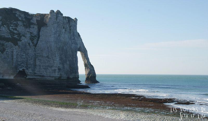 blog voyage etretat falaise