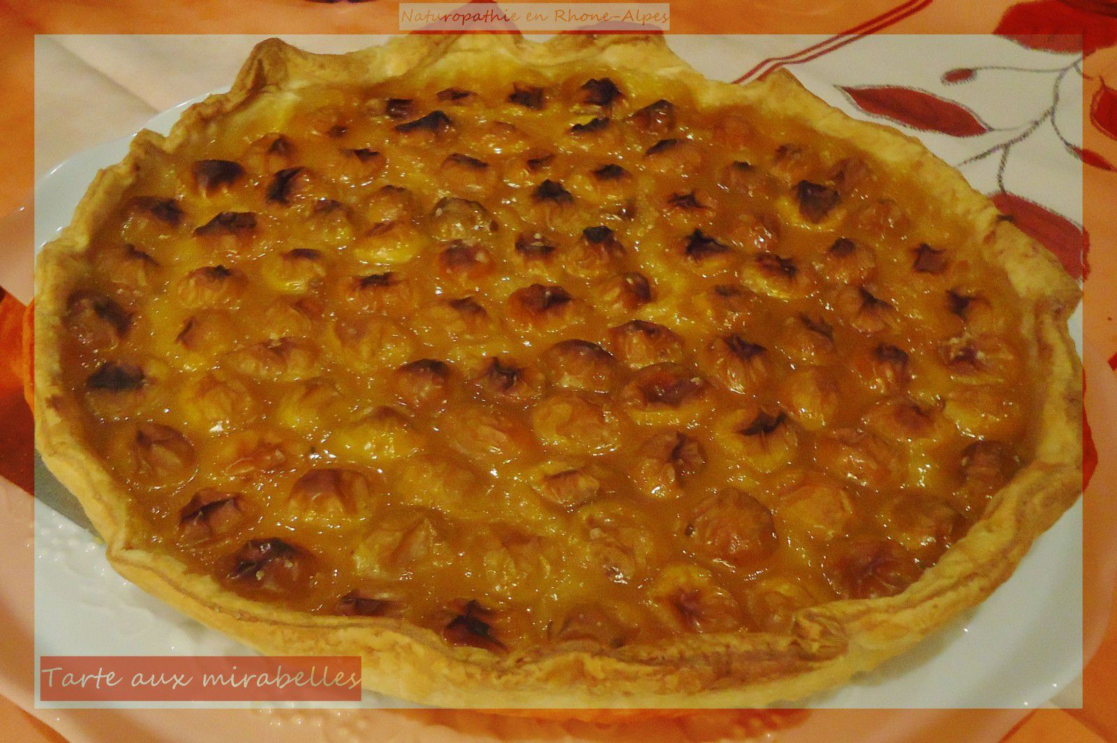 recette tarte aux mirabelles menus quilibr s au quotidien et naturopathie. Black Bedroom Furniture Sets. Home Design Ideas