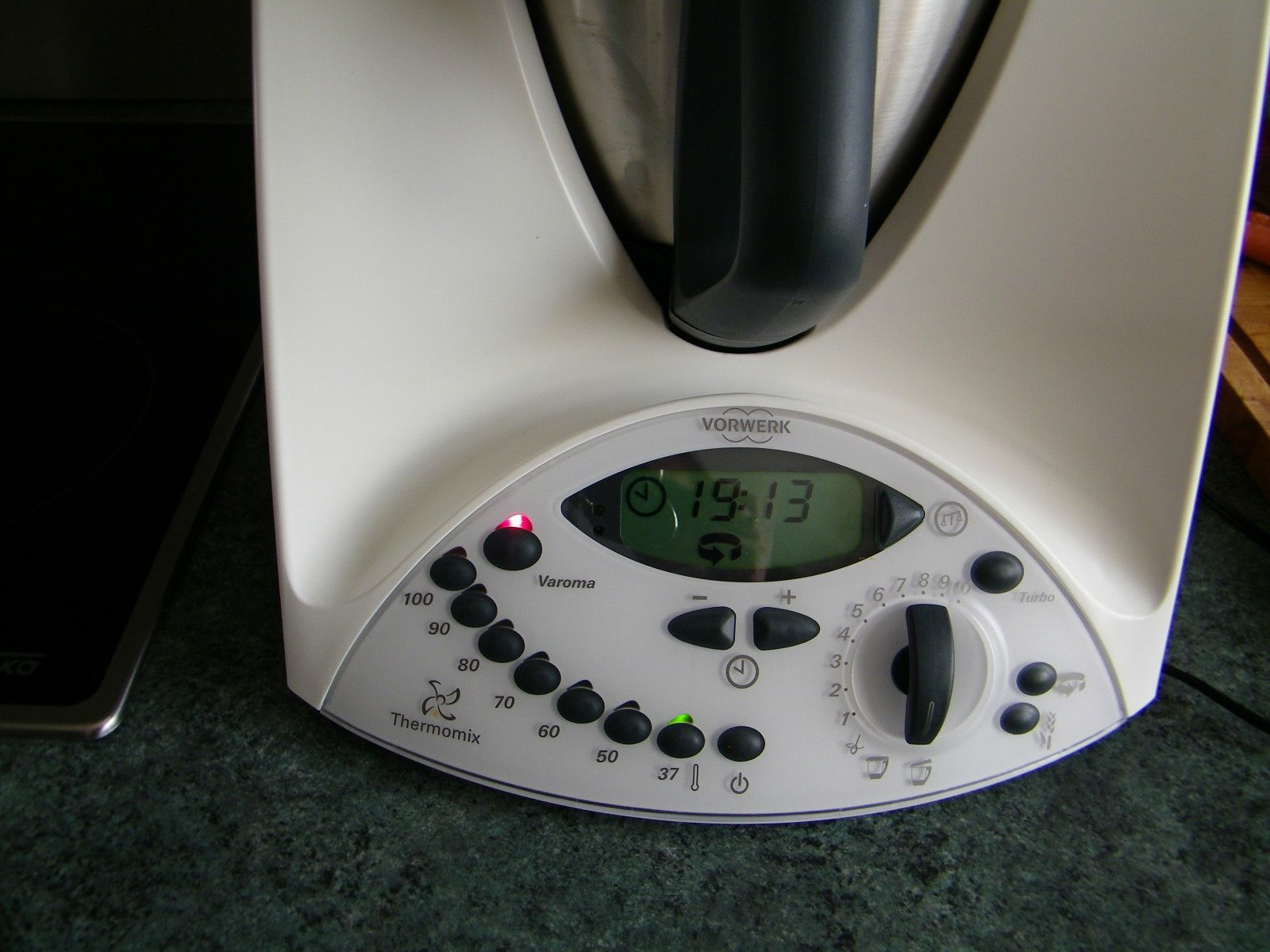 Temperature mijotage thermomix