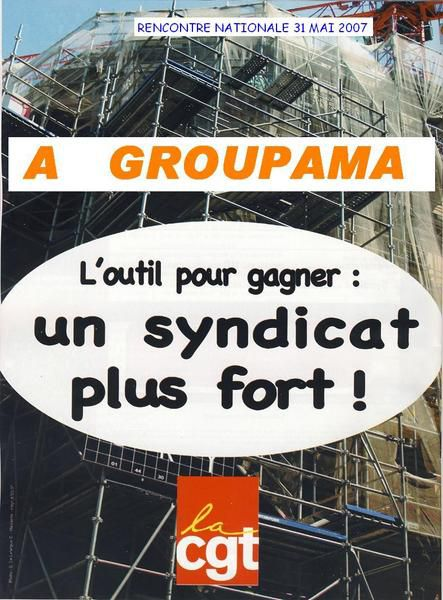 AfficheUn syndicat plus fort
