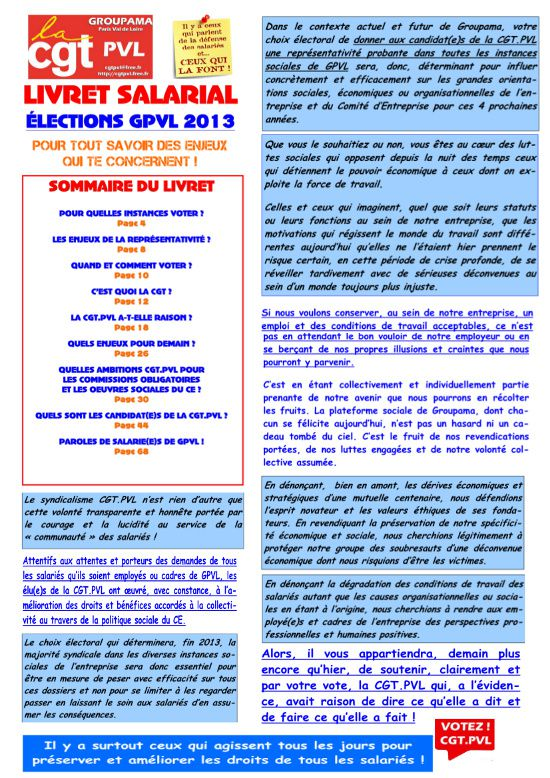 Visu introduction livret CGT GPVL élection