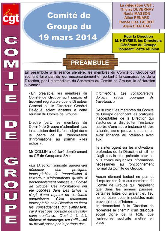 Visu compte rendu CGT comite de groupe 19 mars 2014 Vdef