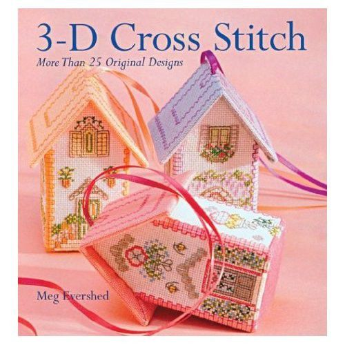 3-D cross stitch book