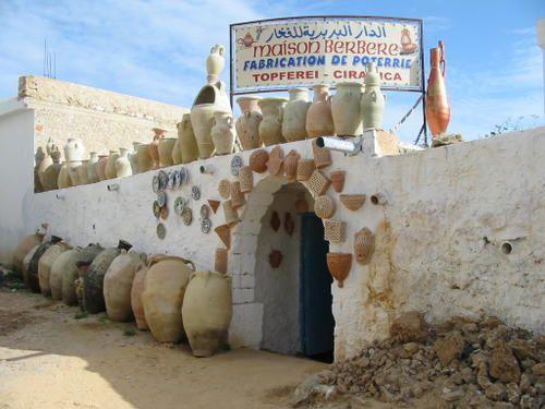 La Maison Berbère, boutique de notre partenaire à Guellala
