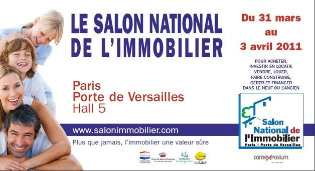 Ectac salon national de l 39 immobilier 2011 porte de for Salon porte de versailles hall 6