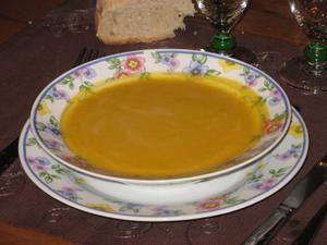 Ma soupe de l gumes faite maison le monde de st phaline - Soupe de legume maison ...