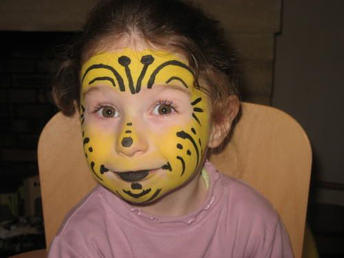 Maquillage Abeille Visage