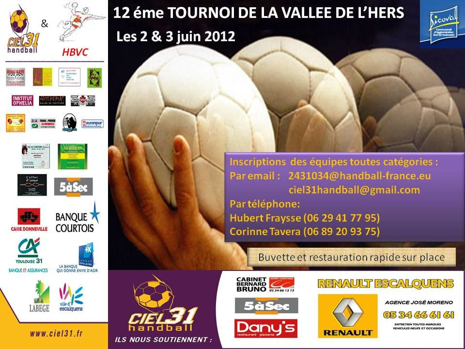 Affiche tournoi Hers 2012
