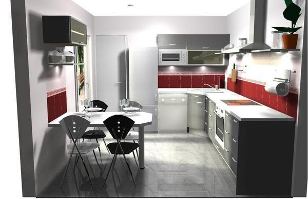 cuisine gris soie ixina avec des id es int ressantes pour la conception de la chambre. Black Bedroom Furniture Sets. Home Design Ideas