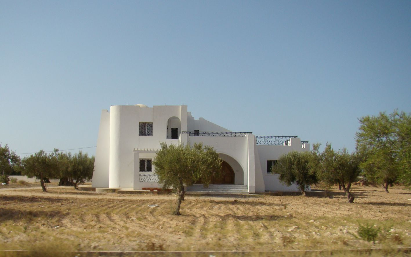 Architecture tunisienne val rie de family blog for Architecture tunisienne maison