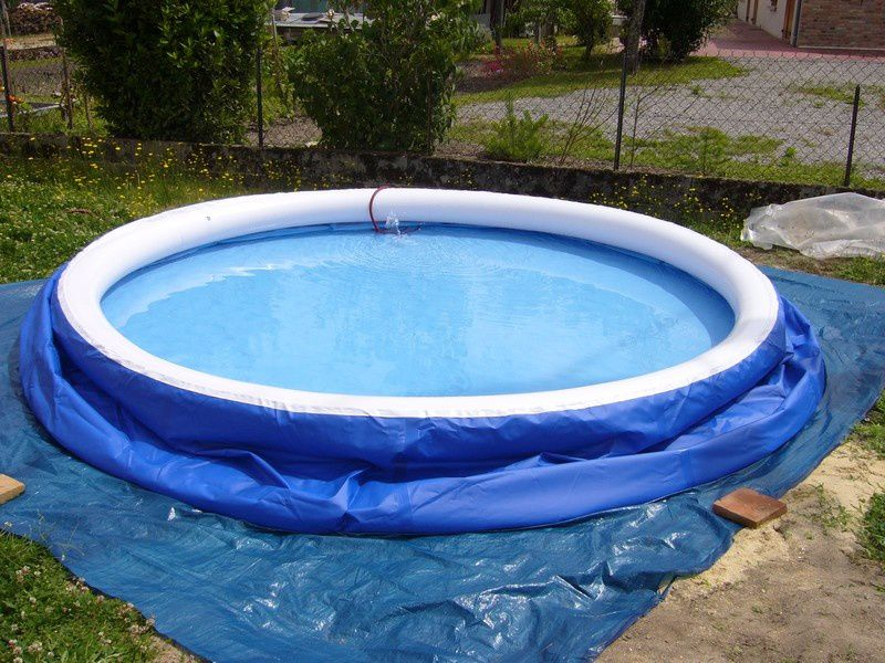 L 39 installation d 39 une piscine auto portante tout un for Piscine portante