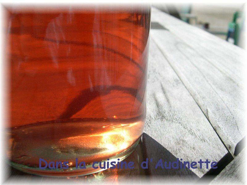 Exceptionnel Vin de pêche de vigne - Dans la cuisine d'Audinette CX11