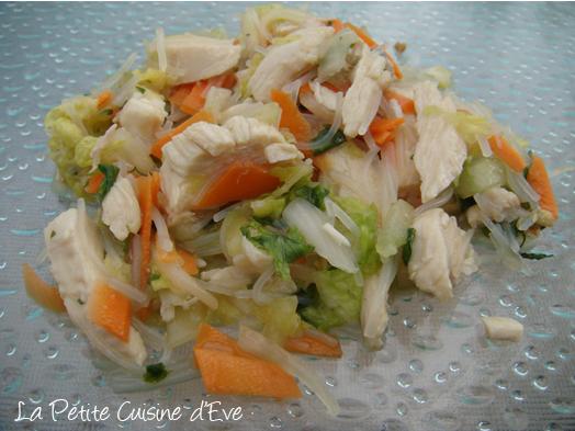 Salade de poulet la vietnamienne la petite cuisine d 39 eve - Recettes cuisine vietnamienne ...