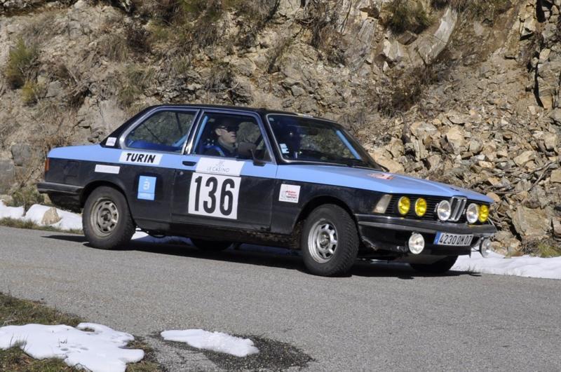 13ème Rallye Monte Carlo Historique 2010. BMW 320 i de 1977. 45ème au général, 15ème classe 2 des voitures construites entre 1972 et 1979, 25ème de la catégorie.