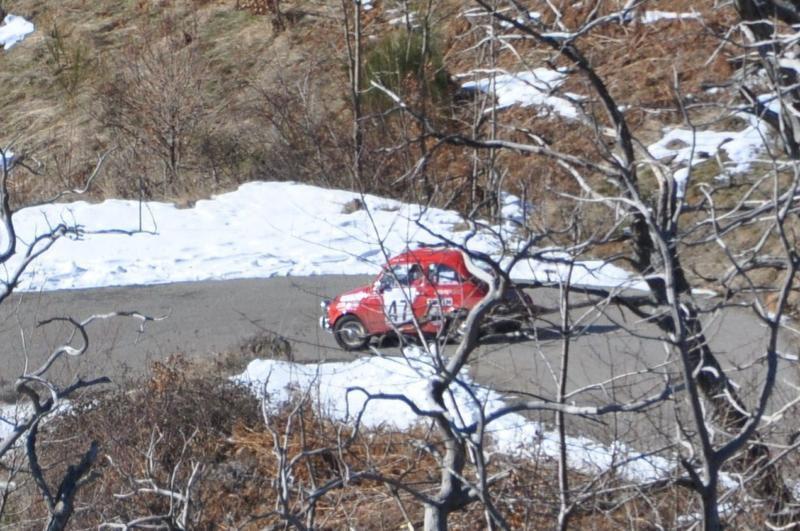 13ème Rallye Monte Carlo Historique 2010 Steyr Puch 650 TR2 de 1968 Classement 39ème. Sur A112 Abarth, Stéphanie et Pascal montent sur la 2ème marche du podium du MCH 2007