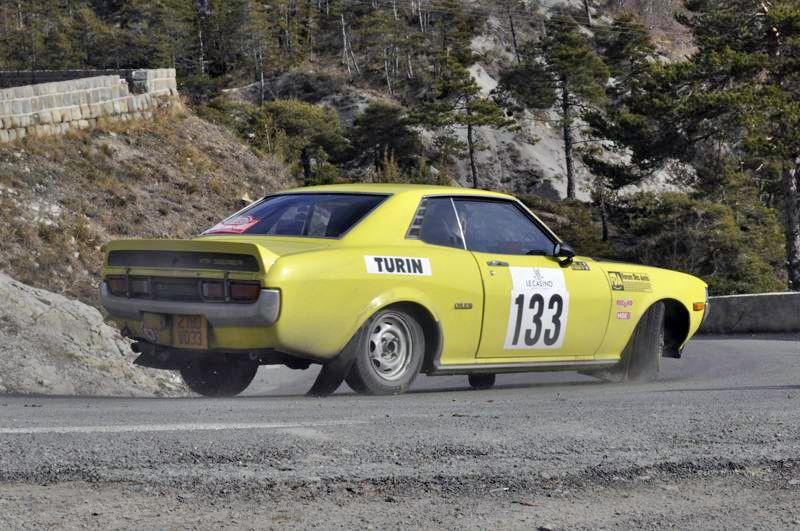 13ème Rallye Monte Carlo Historique 2010. Toyota Celica 1600 GT de 1974. 72ème au général, 23ème classe 2 des voitures construites entre 1972 et 1979, 37ème dans la catégorie.