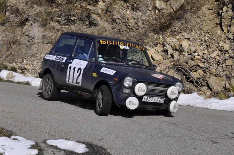 13ème Rallye Monte Carlo Historique 2010. Autobianchi A 112 Abarth de 1977