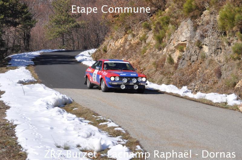 13ème Rallye Monte Carlo Historique 2010. Lancia Beta Coupe de 1975. 74ème au général, 25ème classe 2 des voitures construites entre 1972 et 1979, 39ème de la catégorie.