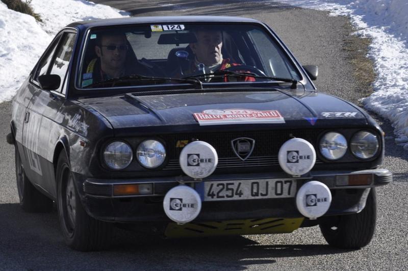 13ème Rallye Monte Carlo Historique 2010. Lancia Beta Coupé de 1978. 20ème au général, 7ème classe 2 voitures construites entre 1972 et 1979, 12ème de la catégorie