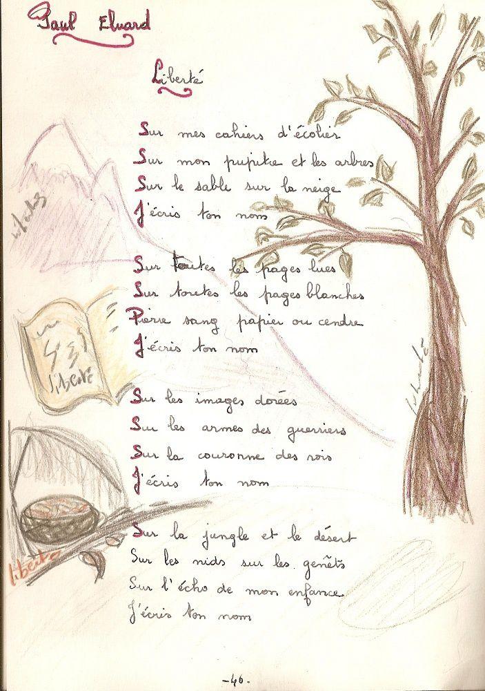 illustration de la poésie liberté