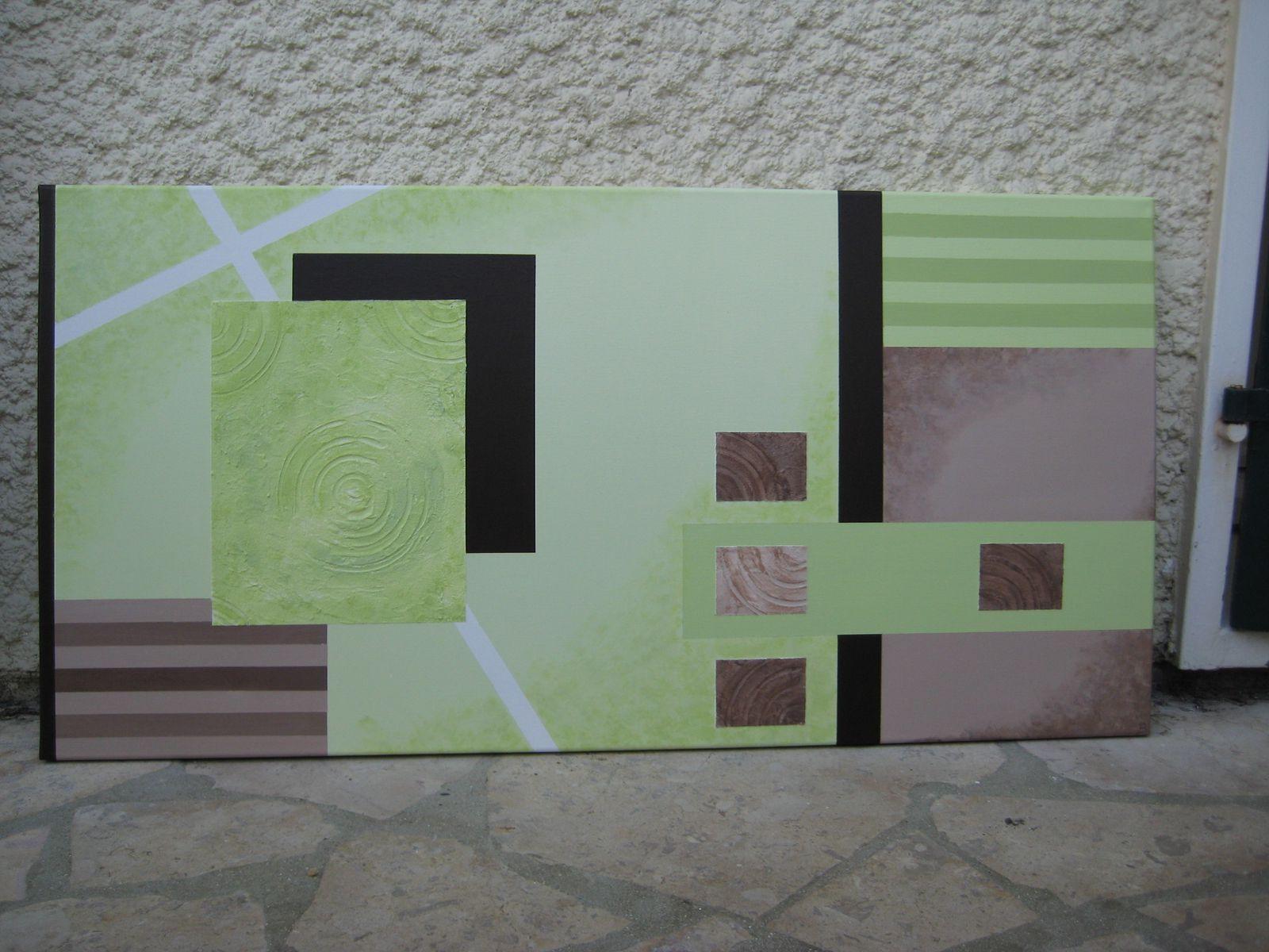 Tableau abstrait \