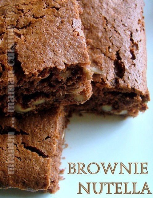 brownie nutella