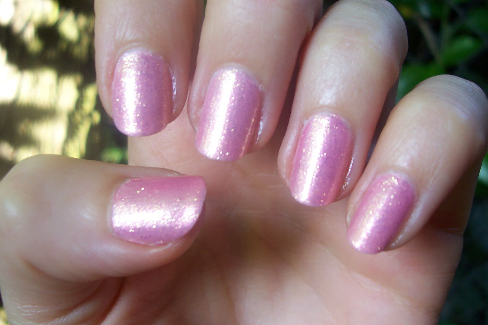 Les Copines Pink Disco Nails (Over OPI Suzi and the ...