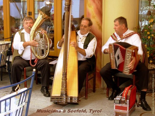 Musiciens à Seefeld Tyrol Copyright MA