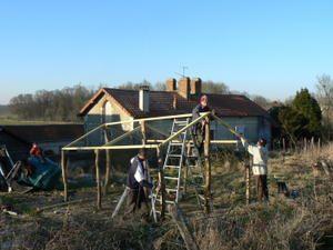 Serre En Peine : construire sa serre en 2 jours serre facile ~ Nature-et-papiers.com Idées de Décoration
