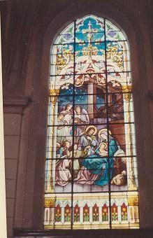 Eglise de ruaux vitrail