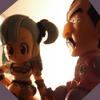 Gashapons 0011 - Bulma & Tao Paï Paï (Dragon Ball)