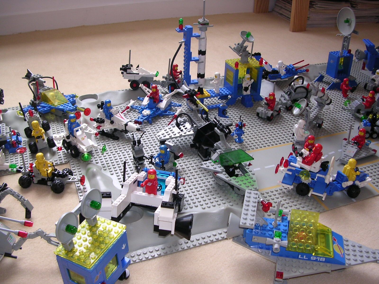 lego classic space - ma collection - le blOg qui fait Oï !