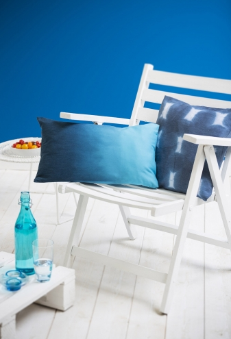 Cultura Shades of blue-coussin