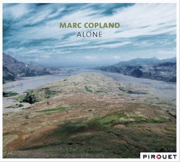 Marc Copland Alone, cover
