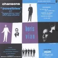 B. Vian, Chansons possibles, cover